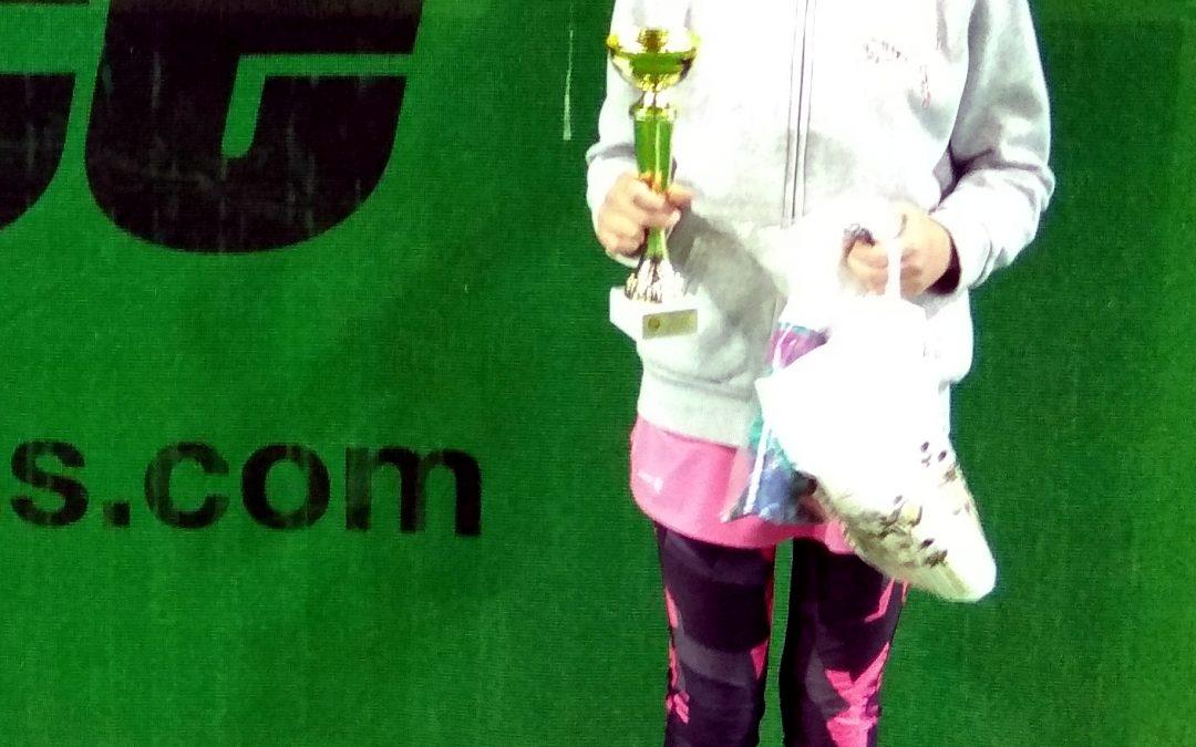 III miejsce Niny Jastrząbek w Halowych Mistrzostwach Województwa Pomorskiego