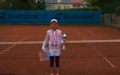 II miejsce Niny Jastrząbek podczas WTK o Puchar Burmistrza Duszniki Zdrój